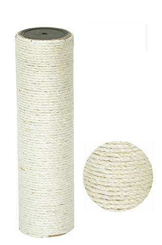 nanook Kratzbaum Ersatzstamm Sisalstamm - Verschiedene Längen - Durchmesser 11 cm Ø für Gewinde M8 - Länge 40 cm