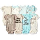 Gerber Baby Girls' 5-Pack Variety Onesies...