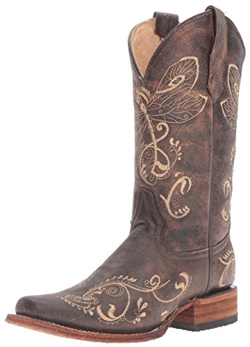 Corral Boots L5079 Brown/Bone 10 B (M)