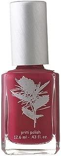 Nail Polish #331 Petunia (Glossy Warm Blue Red) Natural By Priti