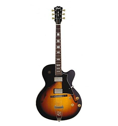 Cort B-001-0088-2 Hollow Body Style Vintage elektrische gitaar