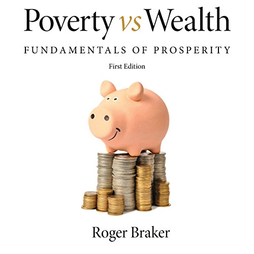 Poverty vs Wealth audiobook cover art