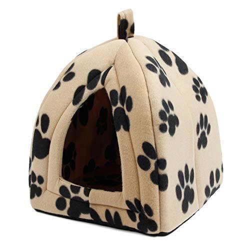 Hondenkennel Superzachte stoffen hondenmand Huis Specifiek voor puppyhond Kat met poot