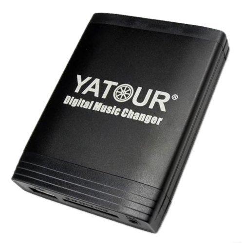 Yatour Adaptateur avec port USB, port AUX MP3 et fente pour carte SD avec système main libre Bluetooth pour autoradio RD3, RM2, RB3 de Citroën C3, C5, C8, Berlingo, Xsara Picasso, Peugeot 106, 206, 307, 406, 407, 407 SW, 607, 806 et 807