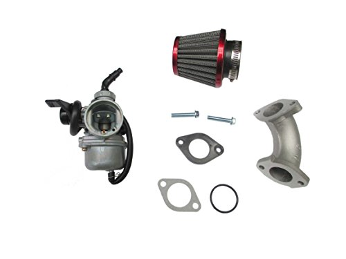 22mm PZ22 Carburetor Filter Intake Pipe CRF50 SSR Lifan 110 125 cc Dirt Pit Bike