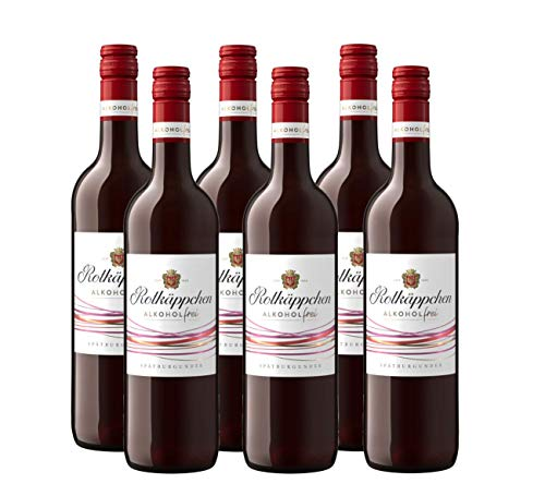 Rotkäppchen Wein Alkoholfrei Spätburgunder (6 x 0,75l)