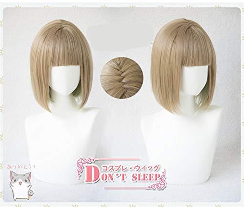 Tokyo Game SINoALICE Hansel Gretel cosplay peluca mujer corta recta lino Lolita peluca disfraces de talla nica