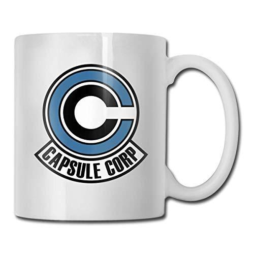 huatongxin Capsule Corp Ceramic Coffee Cup 11OZ White Unique Gift