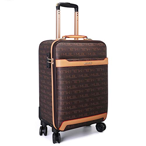 Soft Shell Folding Suitcase with Wheels Trolley Hold Luggage (16'/20') (20',A)