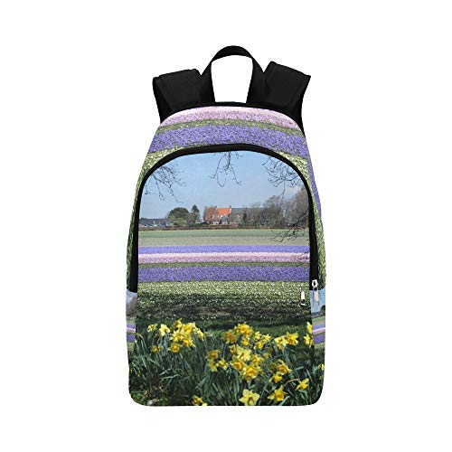 Limiejo Casual Crossbody Bag Dreamy Nature Landscape Sunset Sky Durable Water Resistant Classic Kid Backpack Best School Bags Clear School Bag College School Bag