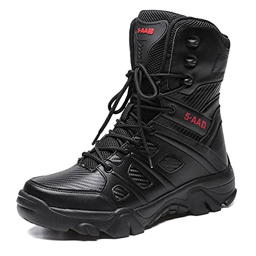 N\C Military Boots, Men's Tactical Boots, Desert Combat Boots, Large Size Men's Shoes, Military Training, Wear-resistant And Non-slip