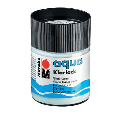 Marabu aqua Klarlack, Glas 50ml [Spielzeug]