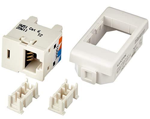 BTicino AM5962C6 Matix Connettore Dati Categoria 6 UTP, Connessione Tipo 110 IDC, Bianco