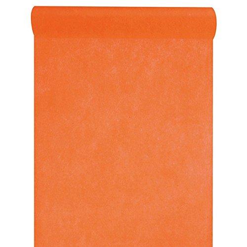 Santex NEU Tischläufer orange, 30cm x 10m