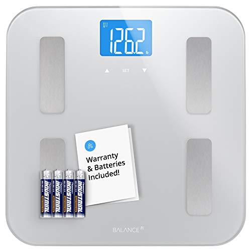 Digital Body Fat Weight Scale by Greatergoods, Accurate Health Metrics, Body Composition & Weight...