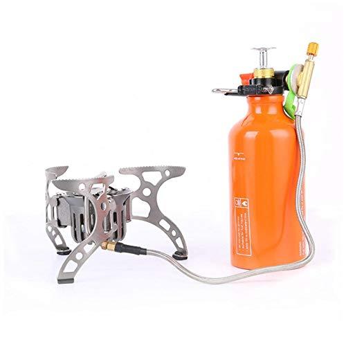 EVTSCAN Horno para mochileros al Aire Libre Petróleo/Gas Combustible portátil Multiuso Camping Picnic Estufa de Cocina a Gas y la Estufa de Salida de Calor más Potente