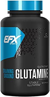 EFX Sports Glutamine, 120 Capsules