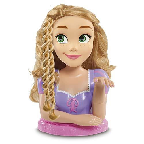STYLING HEAD Disney Rapunzel Busto Deluxe, con 13 accesorios para peinar y...
