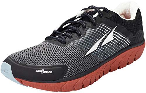 ALTRA Men's AL0A4PEA Provision 4 Road Running Shoe, Black/Gray/Red - 9 M US