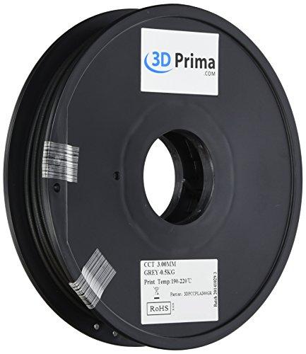 PrimaPLA Color Change Filament Filamento per stampante 3D - PLA - 3mm - 0.5 kg spool - Grey to natural by temperature