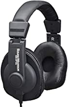SOUNDWARRIOR SW-HP10s Professional Studio Monitor Headphones for Mixing and Mastering, Wired, Closed-Back, Made in Japan
