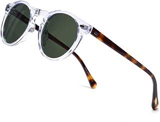 ERD Vintage Round Sunglasses For Men Polarized Circle...