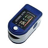 LIALIYA Monitor de saturación de oxígeno del oxímetro de Pulso de los Dedos, Monitor de saturación de oxígeno, Monitor de Dedos de oxígeno para niños para Adultos y niños, y Monitor de Ritmo cardíaco
