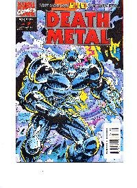 Comic Death Metal #1 Marvel Book