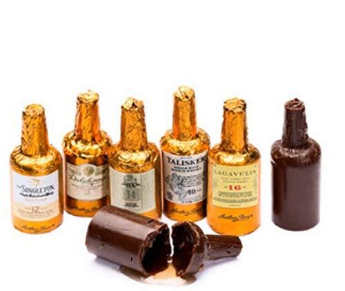 """Anthon Berg - Botellitas de Chocolate Rellenas de Whiskies Escoceses. """"Single Malts Scotch Collection 30pcs"""""""