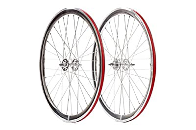 State Bicycle Co. Deep V Fixed- Gear Wheel Set | Silver