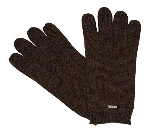 Bugatti Herrenhandschuhe Handschuhe Merino Wolle Braun 8626, Farbe:Braun, Größe:XL
