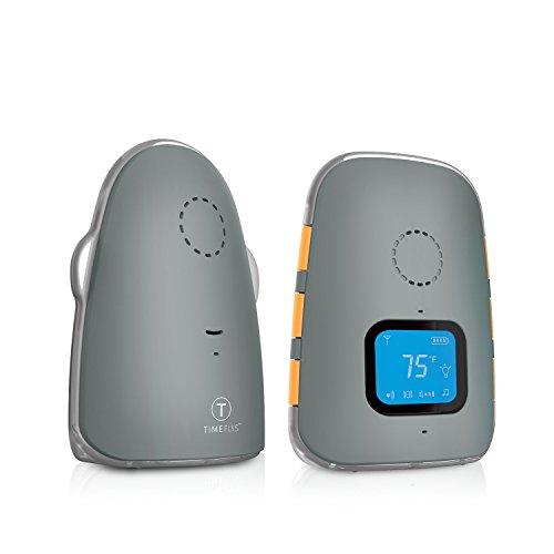 TimeFlys Monitor de bebé digital con vibración de la corona, batería recargable, dos vías, conexión USB, paginación cero emisiones en modo nocturno