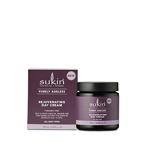 Sukin Purely Ageless Rejuvenating Day Cream, 120 ml (892174)