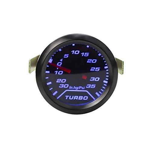 """Dhmm123 Digital 2\""""52mm Automatische Beschleunigung PSI Tabakanzeige Blaue -Licht Auto Armaturenbrett Instrument YC100179 Spezifisch"""