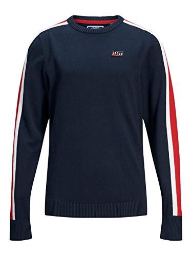 Jack Jones JUNIOR JOCBADGE, T-Shirt mit Rundhalsausschnitt, Blau 152 cm