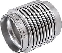 FORTLUFT Exhaust Flex Connector Pipes & Belows (Bellows, 2.25''x3.00''/57x76mm)