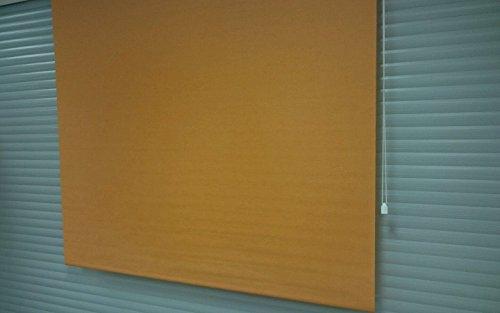 XXL venster rolgordijn 180cm x 170cm Oranje