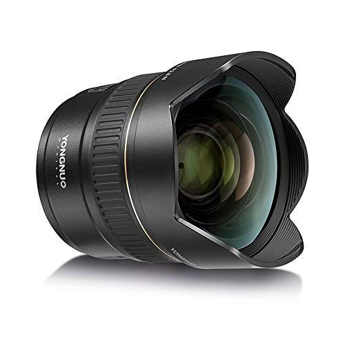 Yongnuo YN14mm F2.8N - Objetivo ultraplano para cámara réflex Digital Nikon D5600 D5500 D5300 D3500 D7000 D7100 D7200 D800 D850 D600