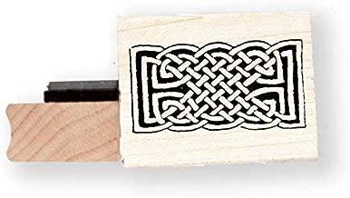 Celtic Knot rubber stamp - BR013D