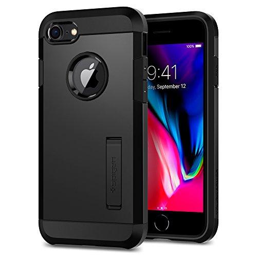 Spigen Cover Tough Armor 2 Compatibile con Compatibile con iPhone 8 Compatibile con iPhone 7 - Nero