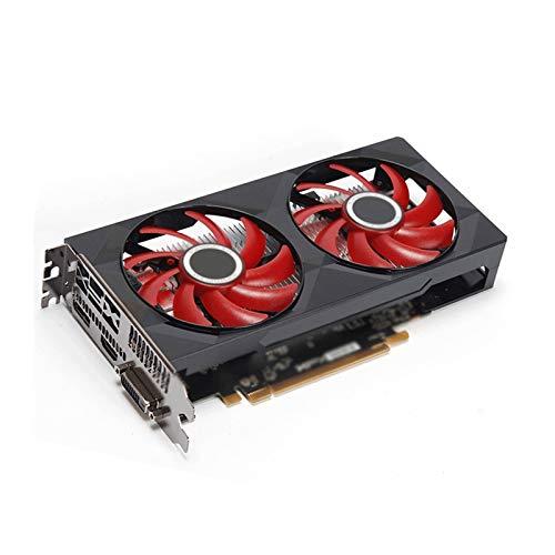 Sistema De Enfriamiento Sin Ventilador Fit For XFX Radeon RX 560 4GB DDR5 Gráficas De Gráficos AMD 4GB GPU Tarjeta Usada De La Tarjeta Usada Tarjeta Gráfica para Juegos