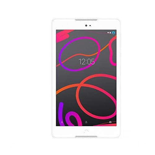 bq Aquaris M8 WiFi Tablet (20,32 cm (8 Zoll) Bildschirm, 16GB RAM, 2GB, Android 6.0) white/white