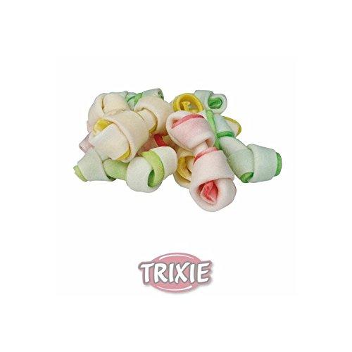 Trixie Denta Fun Dog Snack Mini Huesos Nudo, 240 g