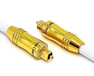 Cavo ottico (Toslink) schermato con tappi in nylon intrecciato e protezioni - Design di alta qualità con connettori dorati - Tutto nuovo modello di cavo ottico, è perfetto con il cavo HDMI Orion ULTIMATE. Supporta una velocità di trasferimento massim...