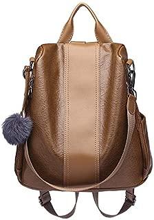Whiteswanau Women Joker Anti-Theft Shoulder Bag Student College Bag Portable Women Backpack Purse Lightweight School Shoulder Bag