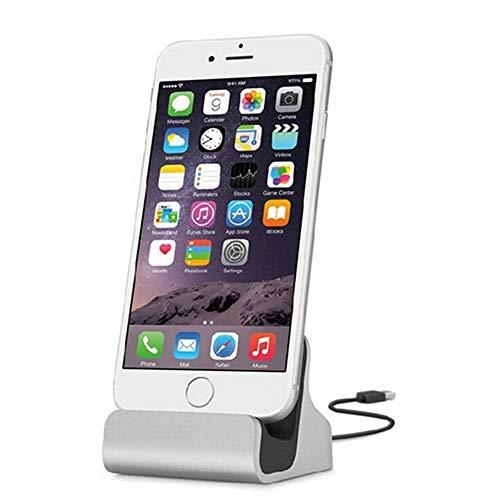 C Type der gemeinsamen Basis, Festplatte Halter Dockingstation Adapter Ladegerät des USB Trenner Geeignet für Unterputz Festplatte Andrews/Huawei/Apple/Samsung, Apple Silver