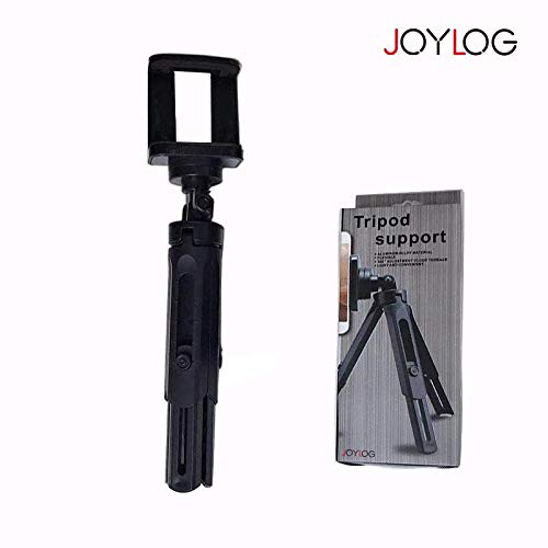 JOYLOG Tripods for Cameras Journalist Mini Tripod Kit with Table Tripod Rotatable Ball Head and Adjustable Leg for DSLR Mirrorless Camera, iPhone, Samsung, Nebula Projector.