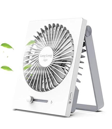 【涼しさを、持ち歩こう】卓上扇風機 USB扇風機 最新改良型 超静音 折り畳み式 Longlongago 携帯扇風機 超...