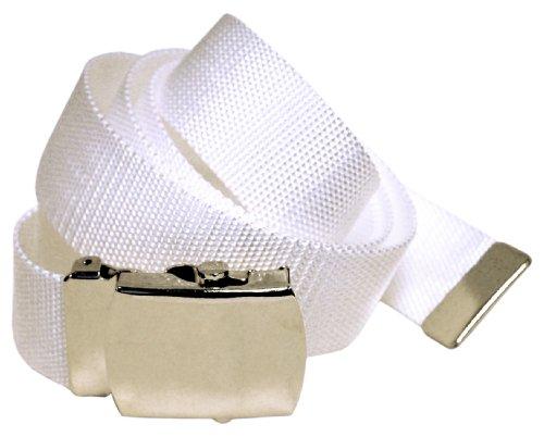2Store24 Ceinture Tissu Blanc - 100cm