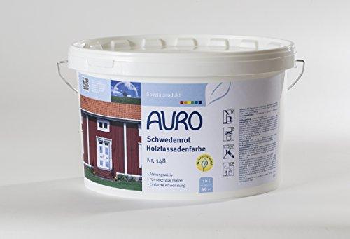 Auro Schwedenrot Holzfassadenfarbe